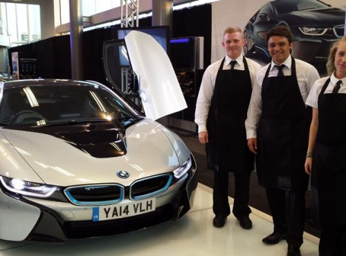<p>Just a quick note to thank you for the excellent service provided yesterday for the BMW i8 Launch last night.</p>
