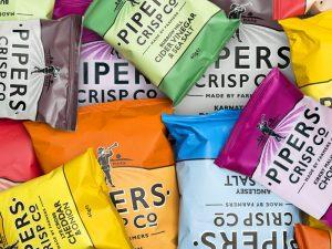 Piper's homemade potato chips (300g)