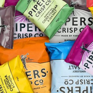 Piper's potato crisps (individual 40g bags)