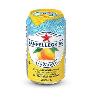 San Pellegrino sparkling lemonade (330ml can)
