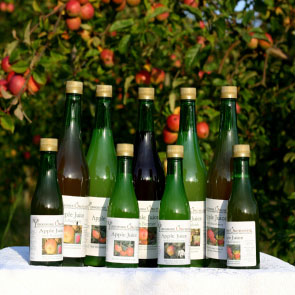 Yorkshire Orchards Apple Juices (1 litre)